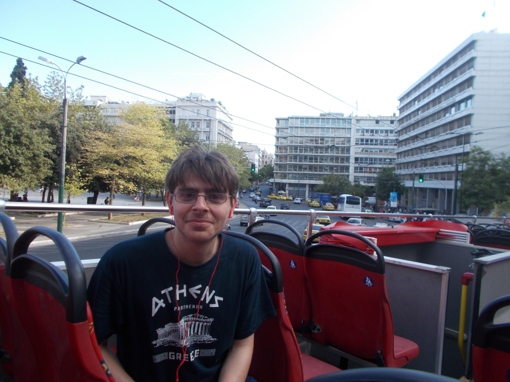 Athens City Sightseeing Bus