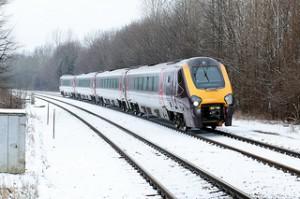 Τρένο στο Χιόνι
