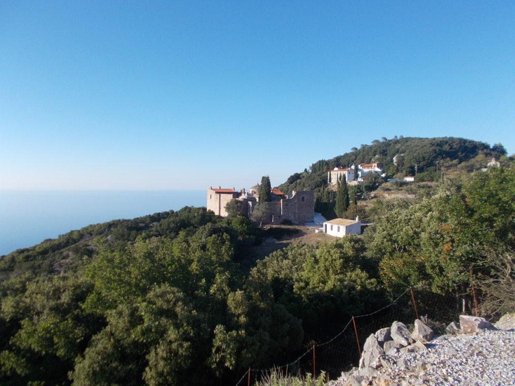 The view towards the monastery - Η θέα προς το μοναστήρι