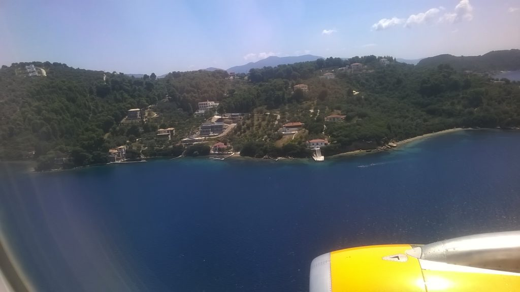 Skiathos - Just before touchdown