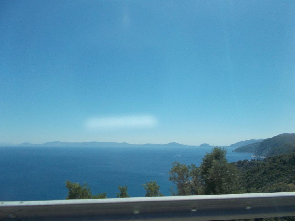 The view towards Alonnisos. - Η θέα προς την Αλόννησο.