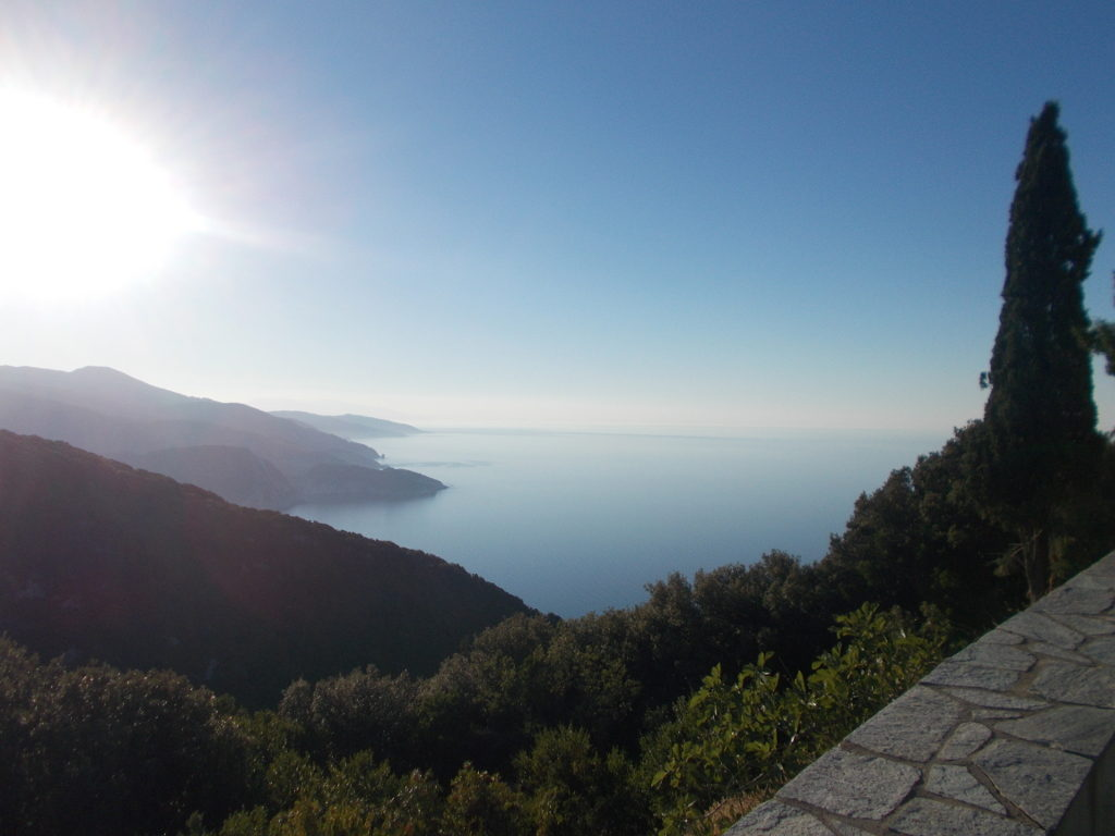 The view from the monastery - Η θέα από το μοναστήρι