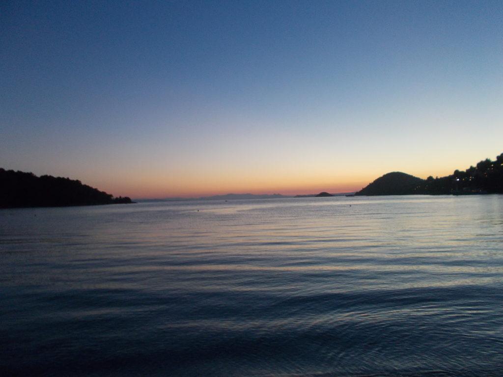 Sunset from Panormos - Ηλιοβασίλεμα στον Πάνορμο