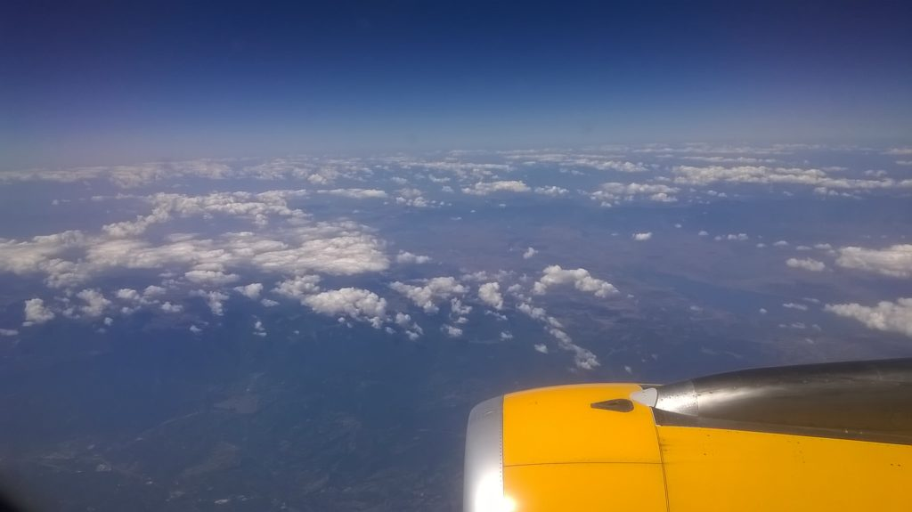 We are now in Greek airspace, just to the North West of Thessaloniki