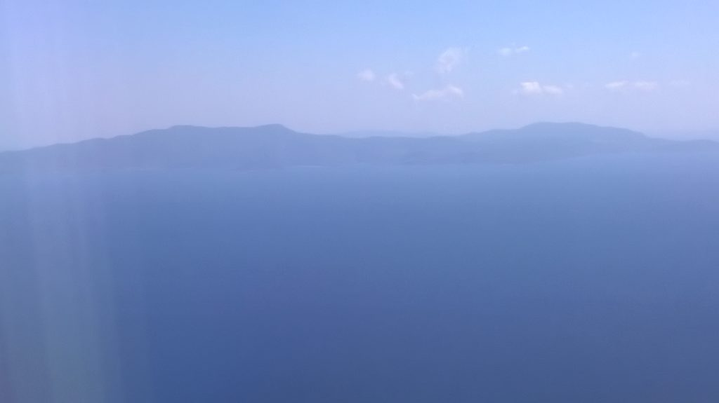 The Pelion peninsular of the Greek Mainland.