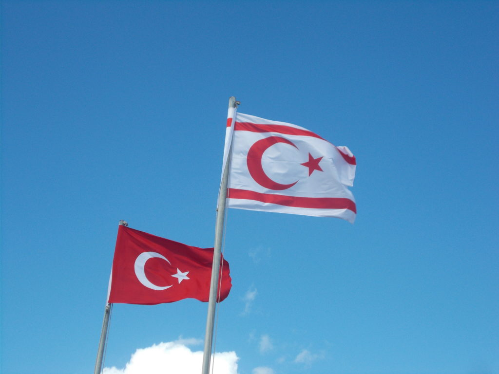 Flags of Turkey & Northern Cyprus